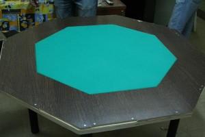 как положить ламинат на покерный стол