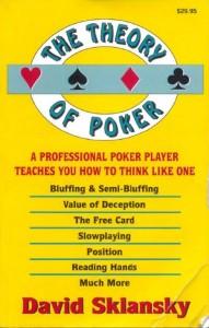 """Книга """"Теория покера"""" автор (Дэвид Склански)"""